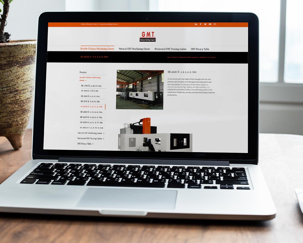 gmt-cnc.com screenshot