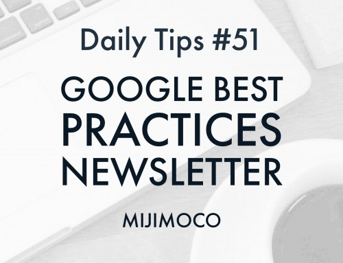 Google Best Practices Newsletter