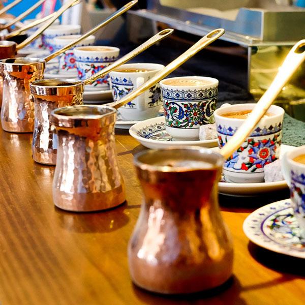 Saturn Landing Turkish Coffee